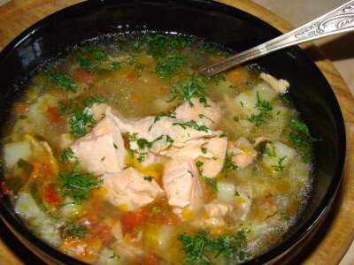 Рыбный с лососем