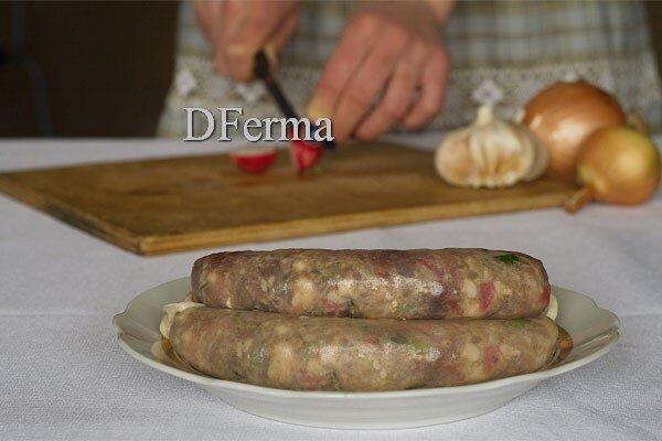 Колбаски-купаты из свинины с говядиной