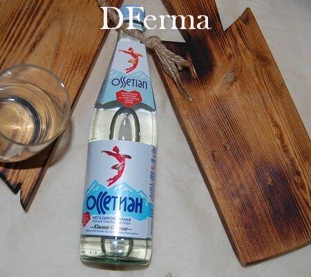"""Минеральная вода """"OSSETIAN"""" негазированная 0,5 лит. (стекло)"""