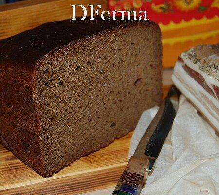 Хлеб Афанасьевский  бездрожжевой