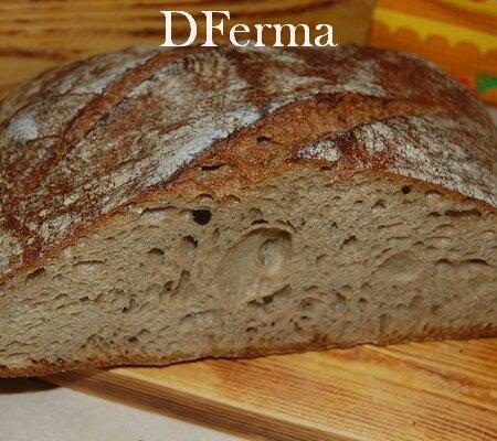 Хлеб Сергиевский бездрожжевой
